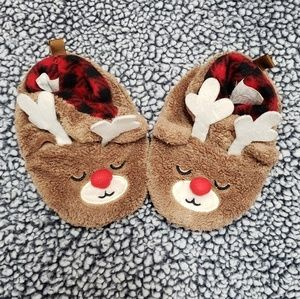 Other - Baby/toddler reindeer house shoes